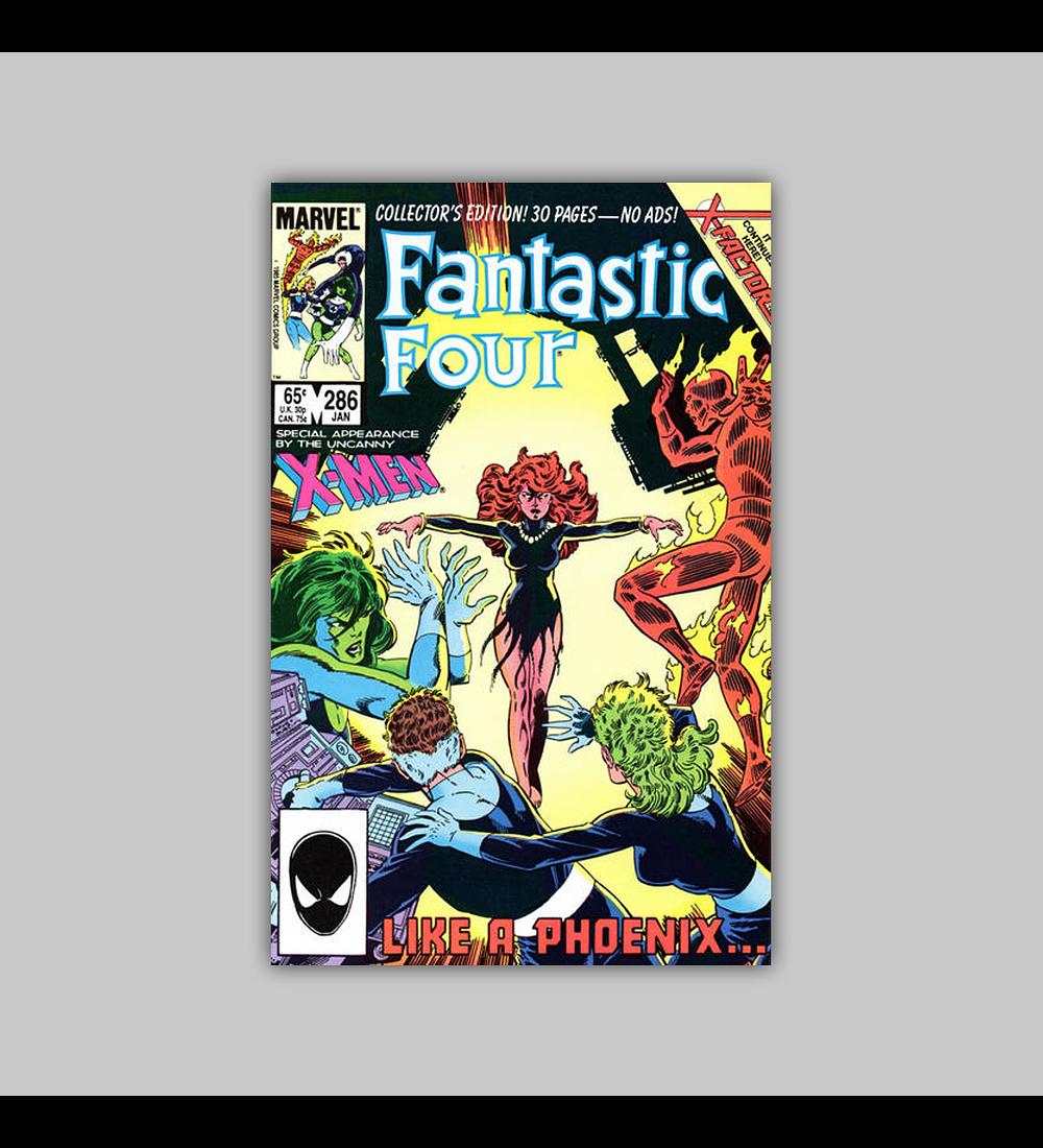 Fantastic Four 286 VF (8.0) 1986