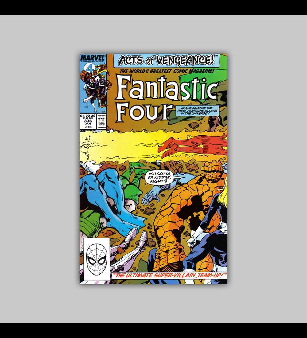 Fantastic Four 336 1990