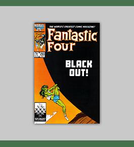 Fantastic Four 293 1986