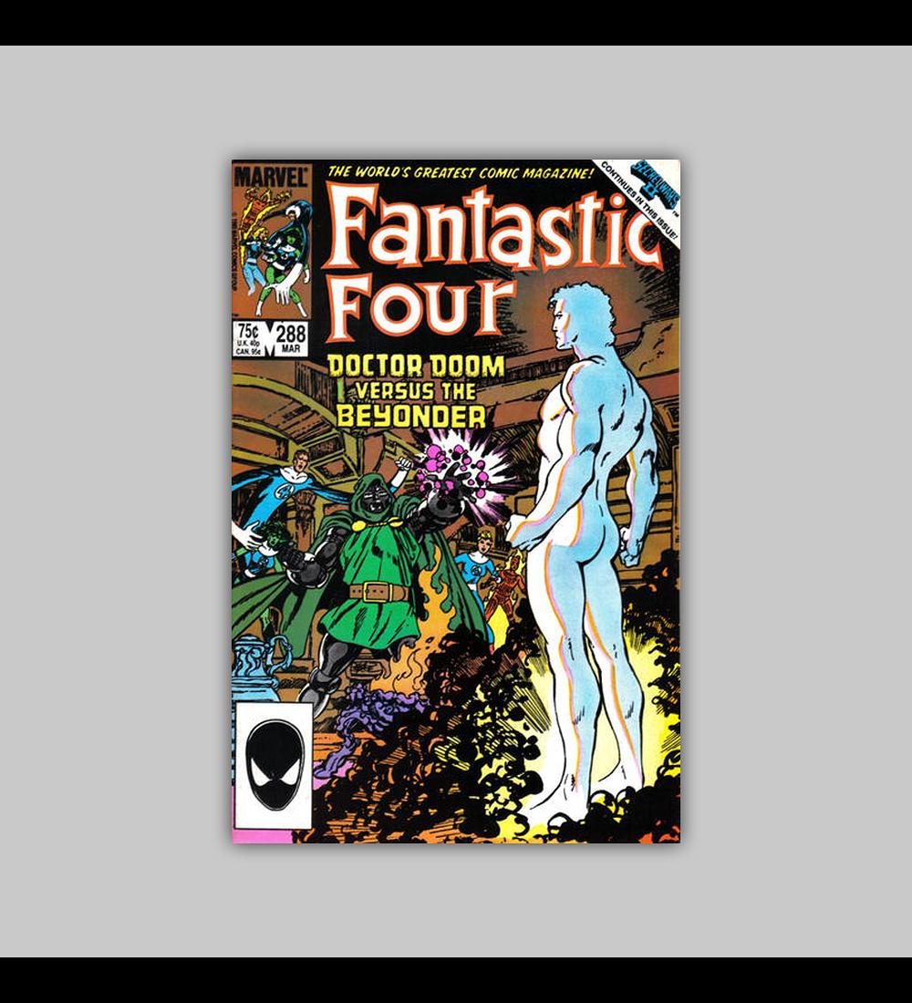 Fantastic Four 288 1986