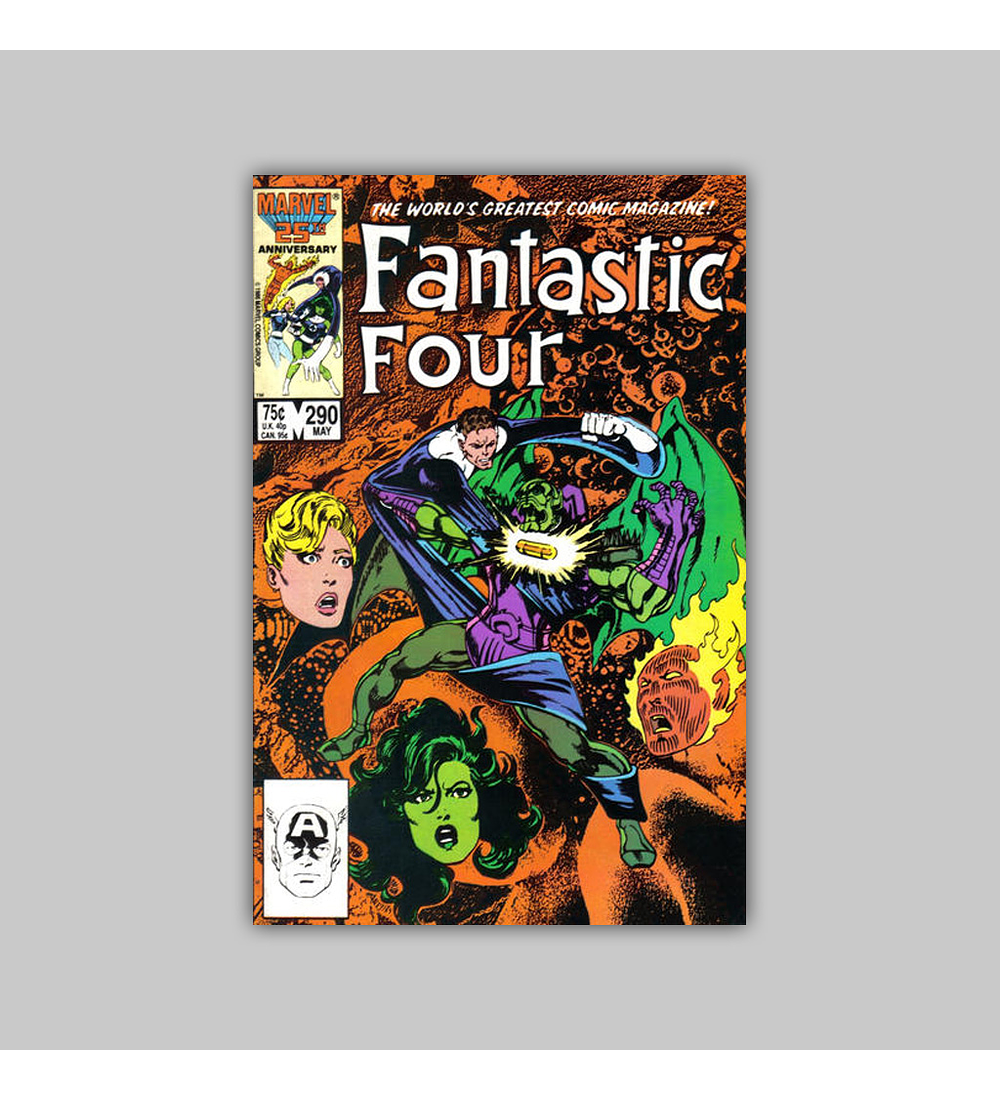 Fantastic Four 290 1986