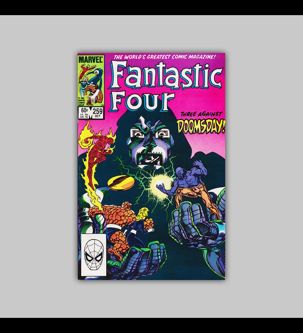 Fantastic Four 259 1983