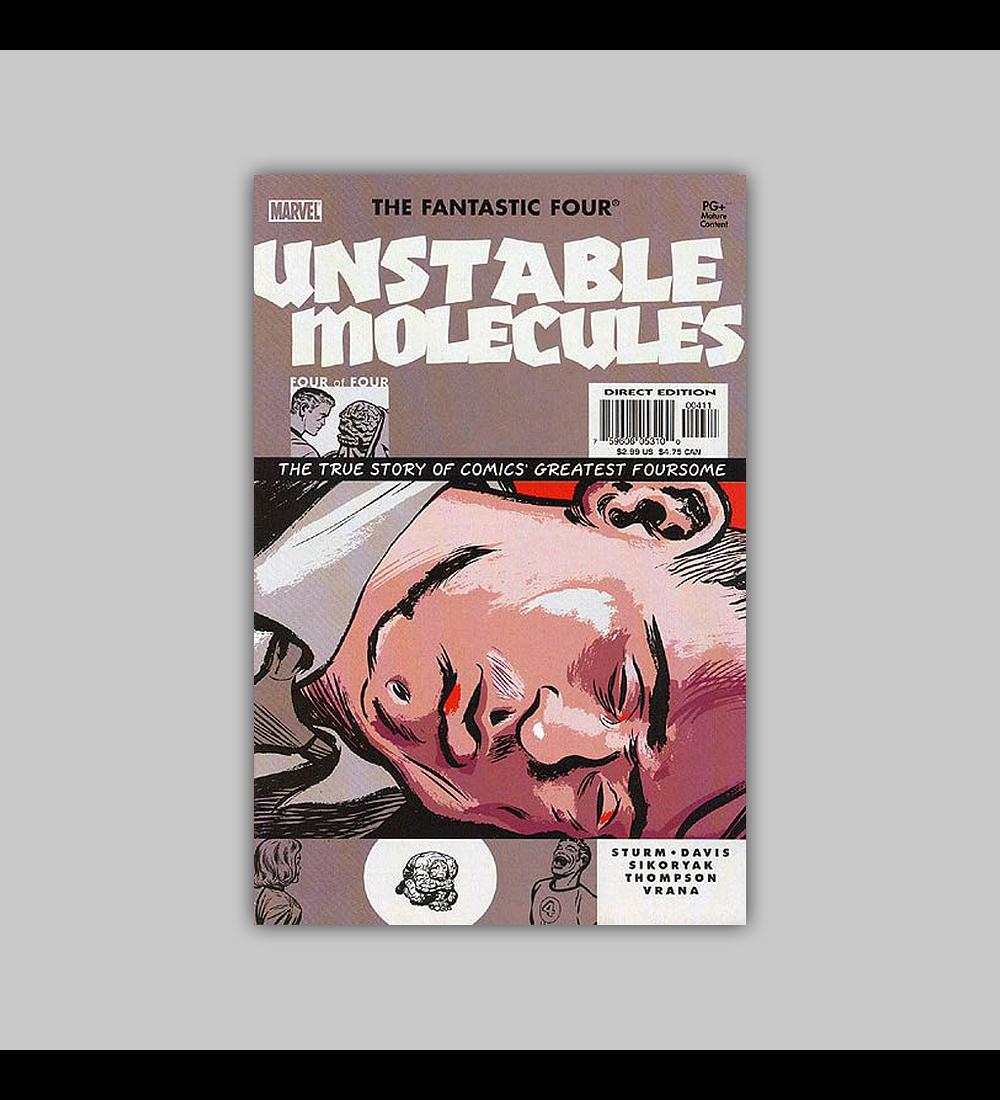 Fantastic Four: Unstable Molecules 4 2003