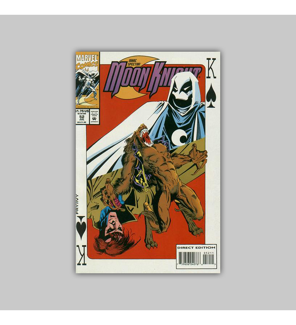 Marc Spector: Moon Knight 52 1993