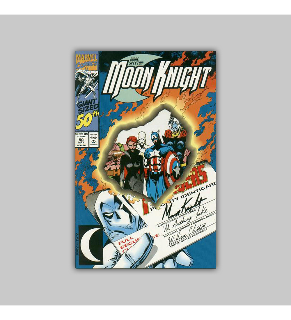 Marc Spector: Moon Knight 50 Die-Cut 1993