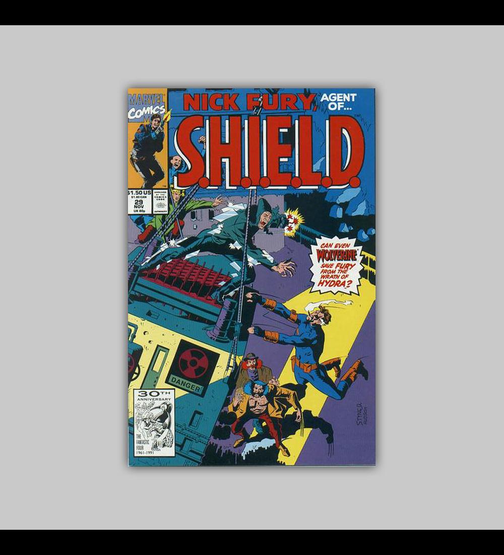 Nick Fury, Agent of S.H.I.E.L.D. 29 1991