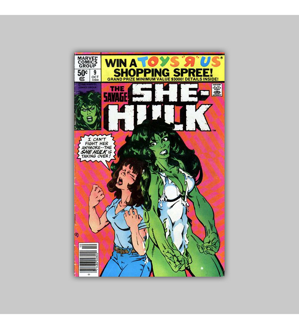 The Savage She-Hulk 9 1980