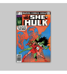 The Savage She-Hulk 10 1980