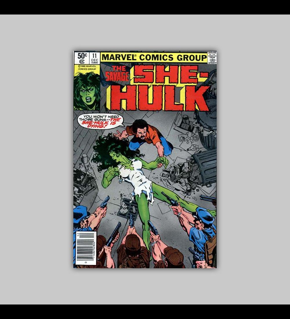 The Savage She-Hulk 11 1980