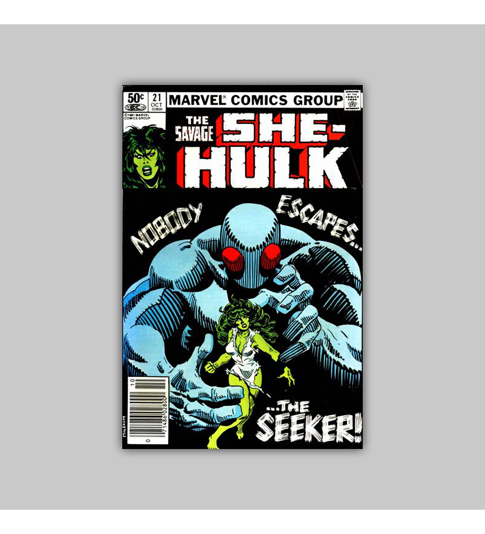 The Savage She-Hulk 21 1981