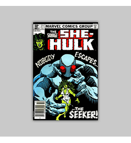 The Savage She-Hulk 21 1981