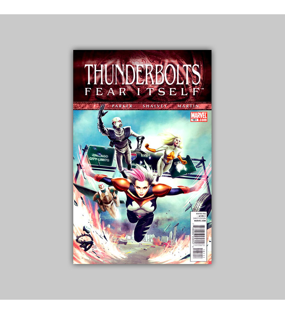 Thunderbolts 161 2011