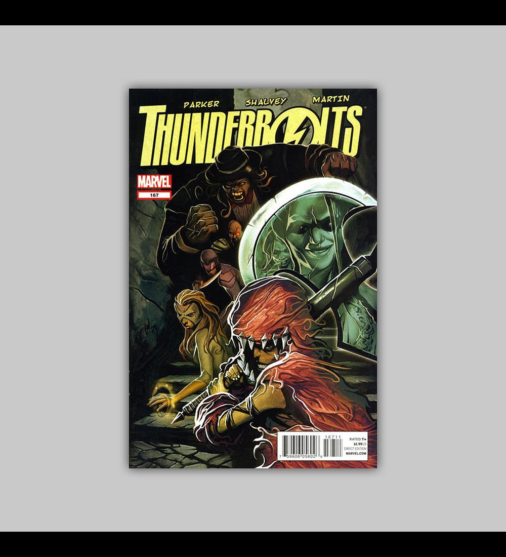 Thunderbolts 167 2012
