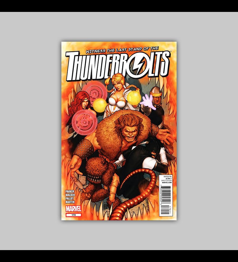 Thunderbolts 170 2012