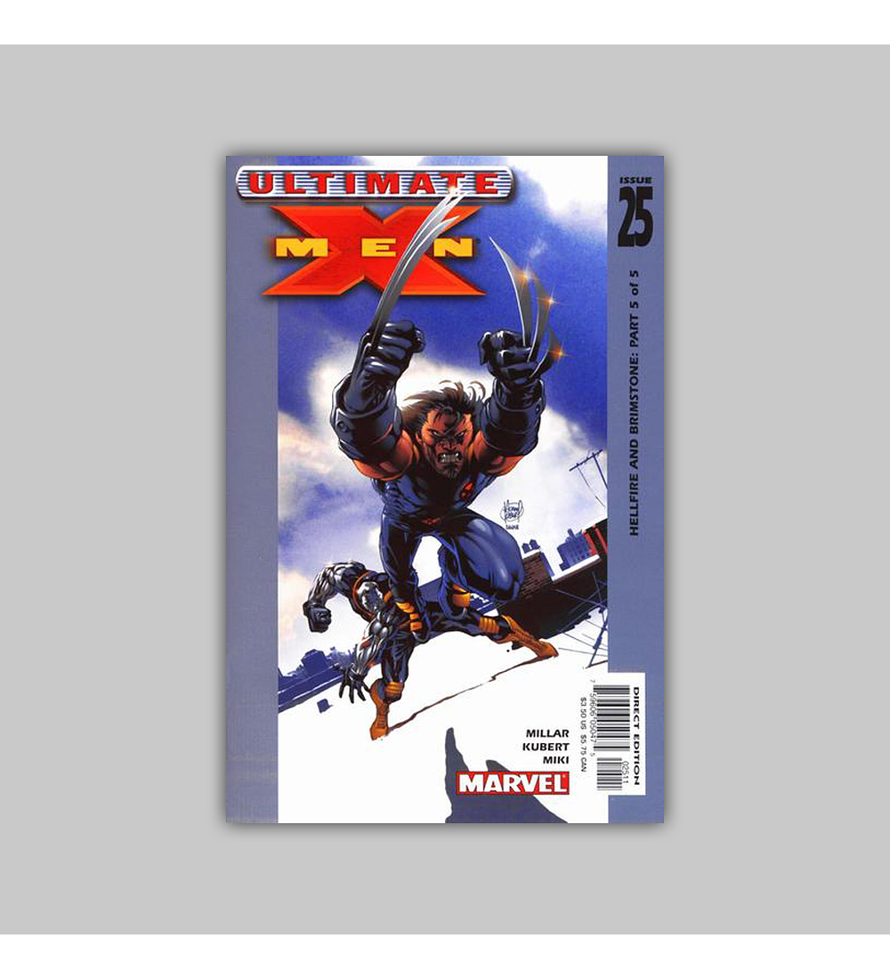 Ultimate X-Men 25 2003