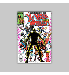 X-Men and the Micronauts 1 VF/NM (9.0) 1984