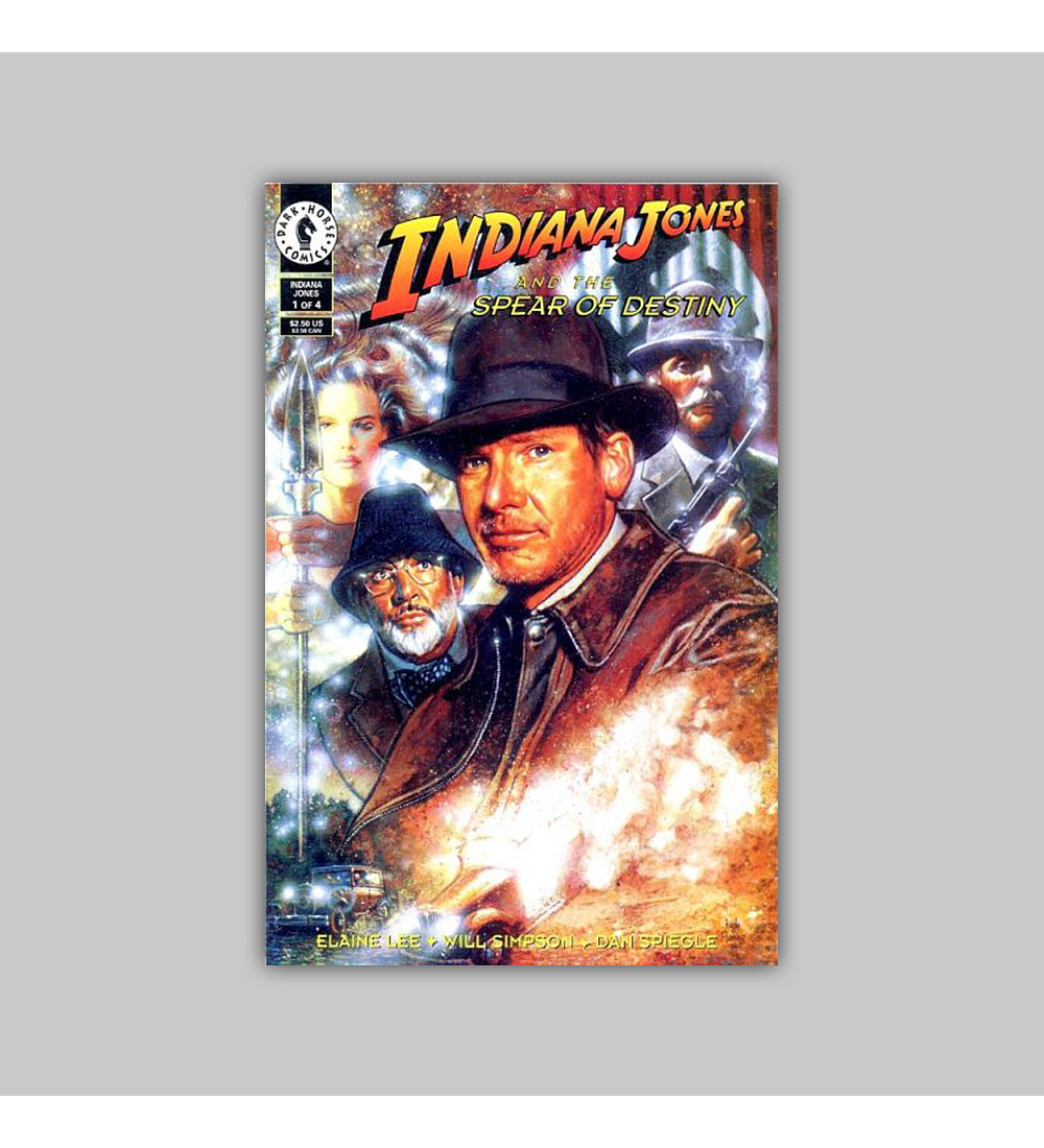 Indiana Jones and the Spear of Destiny 1 1995