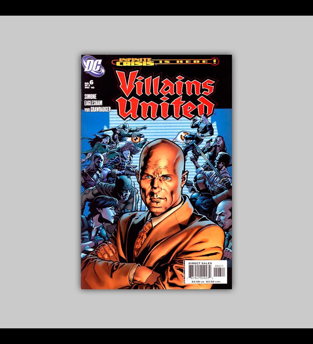 Villains United 6 2005