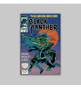 Black Panther 4 VF/NM (9.0) 1988