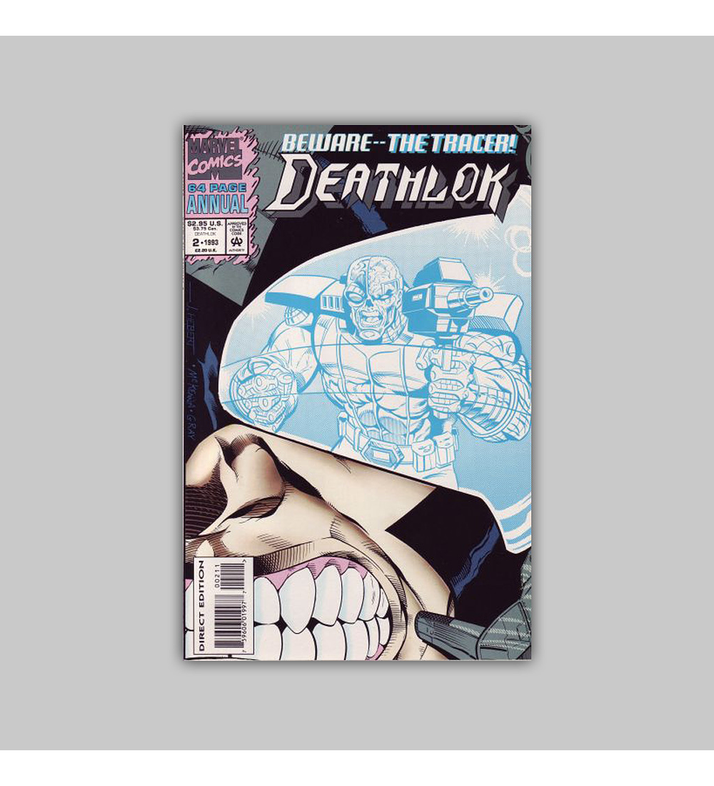 Deathlok Annual 2 Polybagged 1993