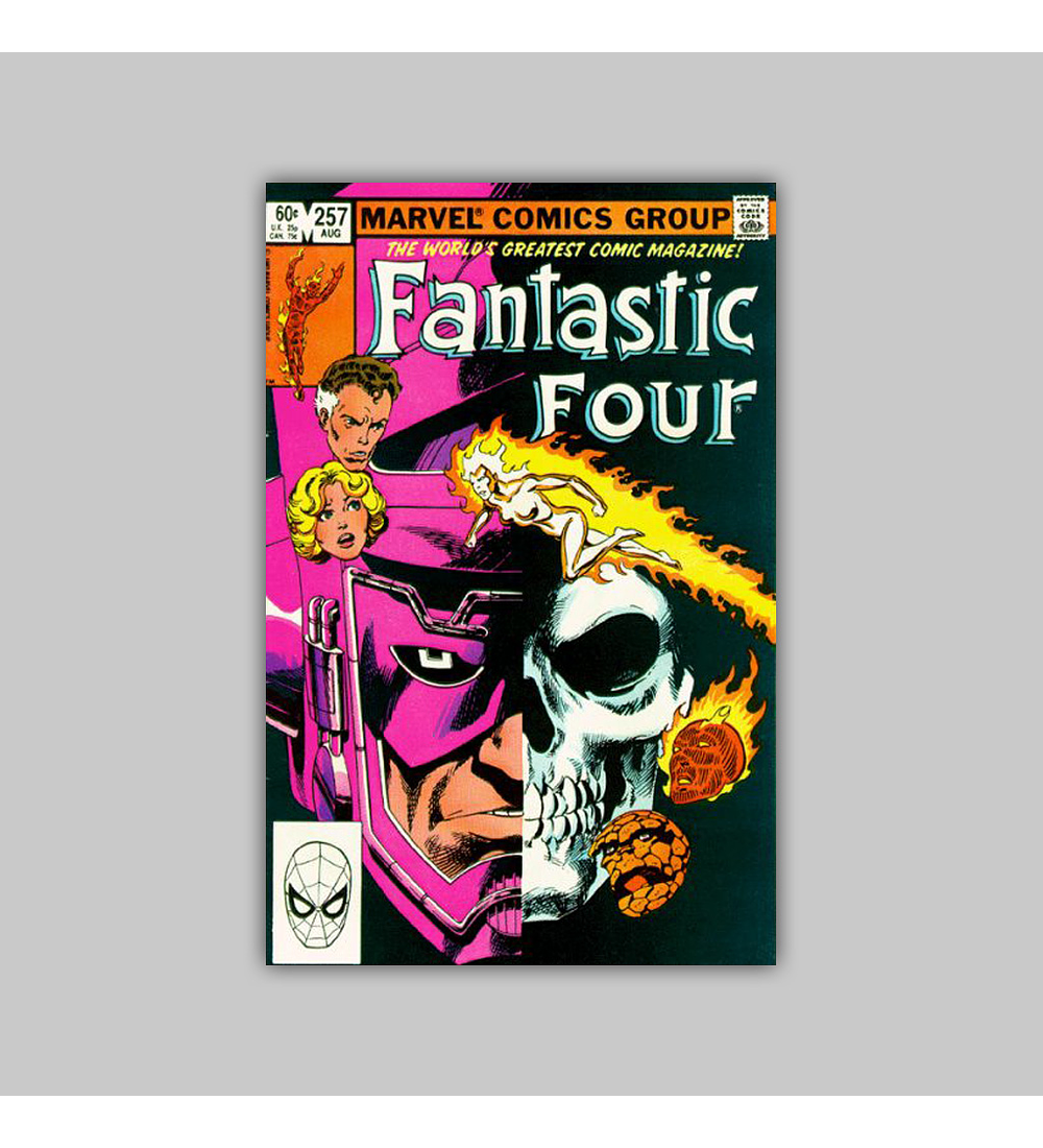 Fantastic Four 257 1983