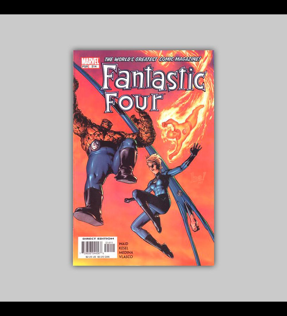 Fantastic Four (Vol. 3) 514 2004