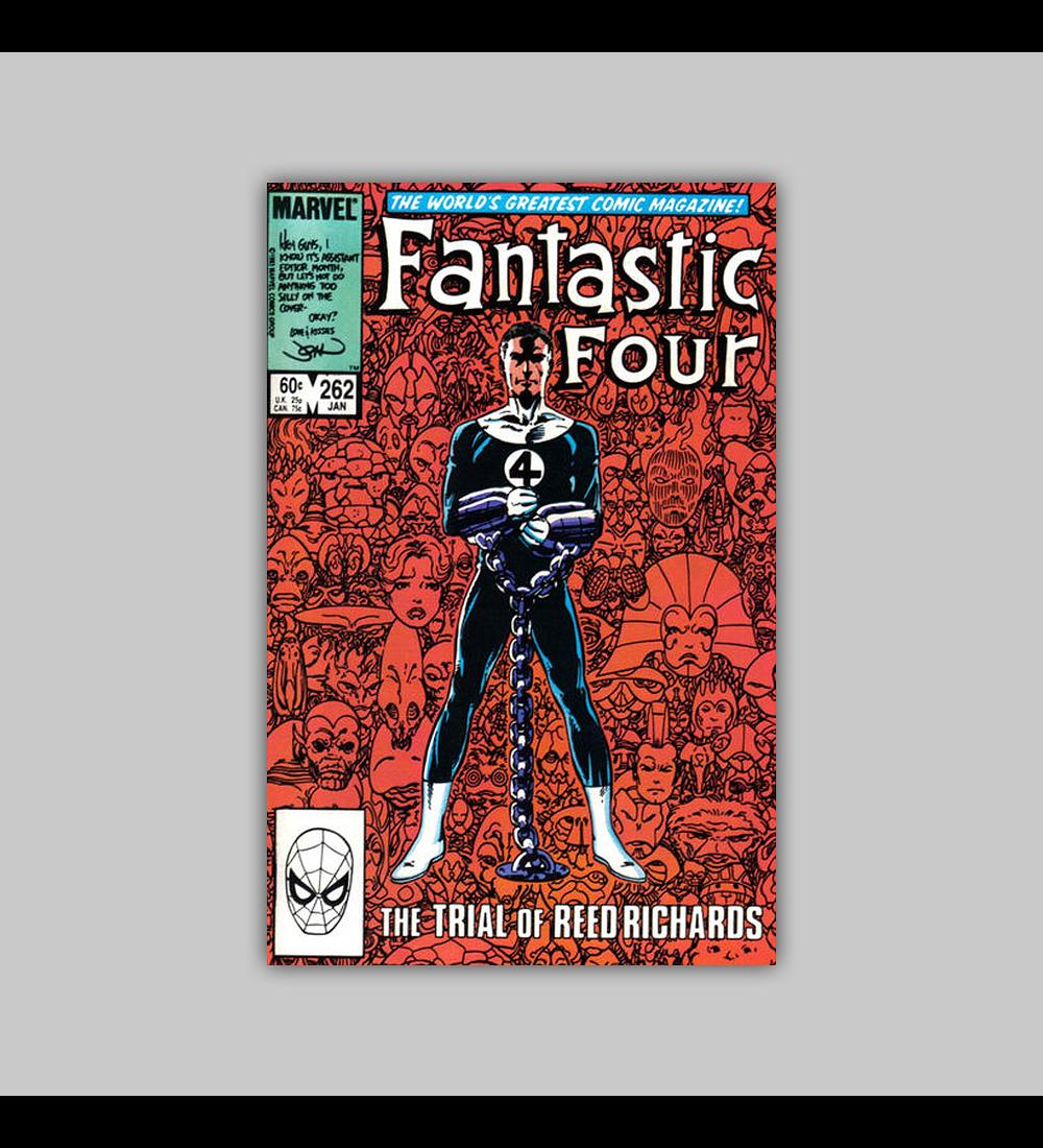 Fantastic Four 262 1984