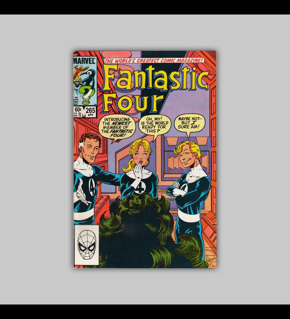 Fantastic Four 265 1984