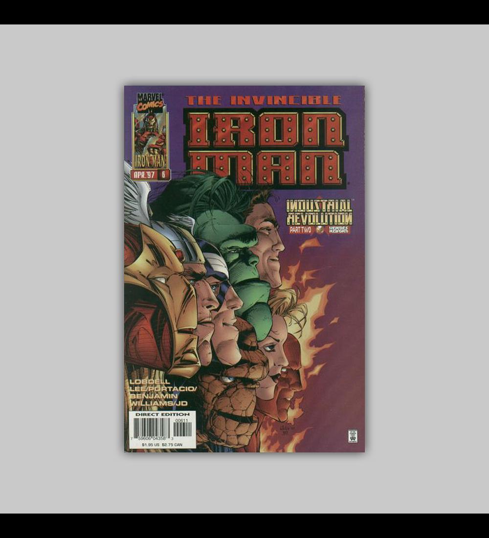 Iron Man (Vol. 2) 6 1997
