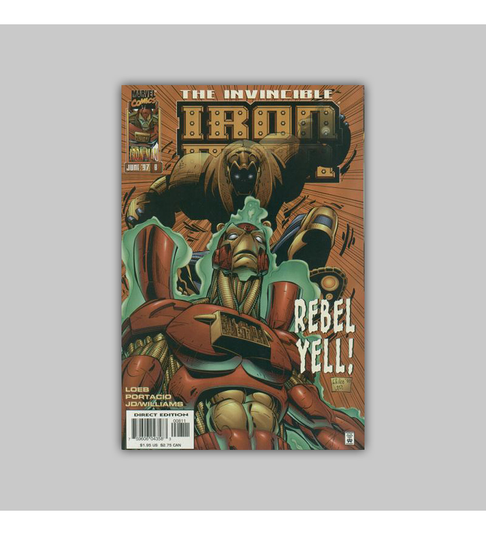 Iron Man (Vol. 2) 8 1997