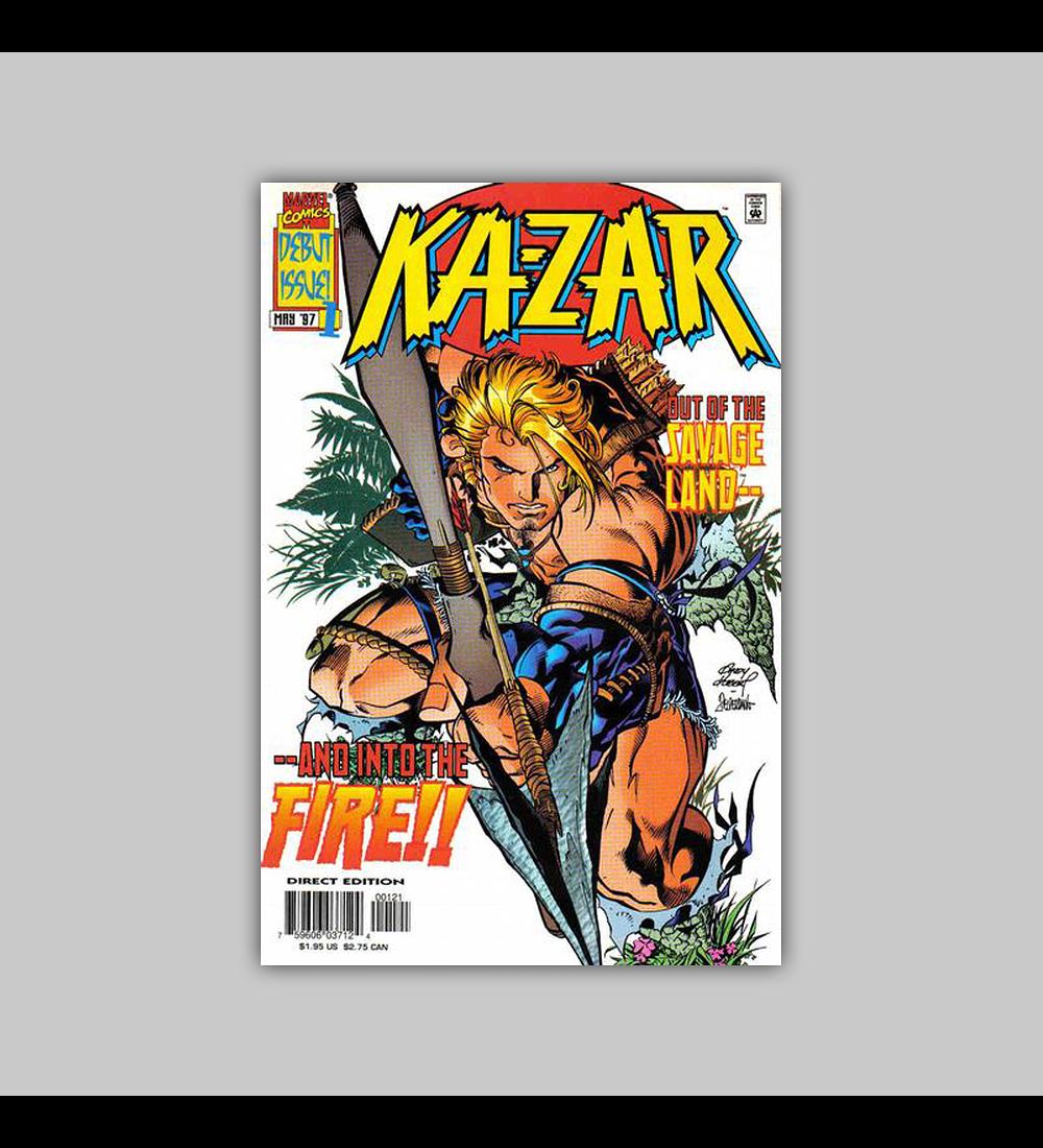 Ka-Zar (Vol. 2) 1 2nd. printing 1997