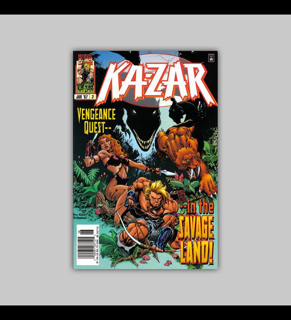Ka-Zar (Vol. 2) 2 1997