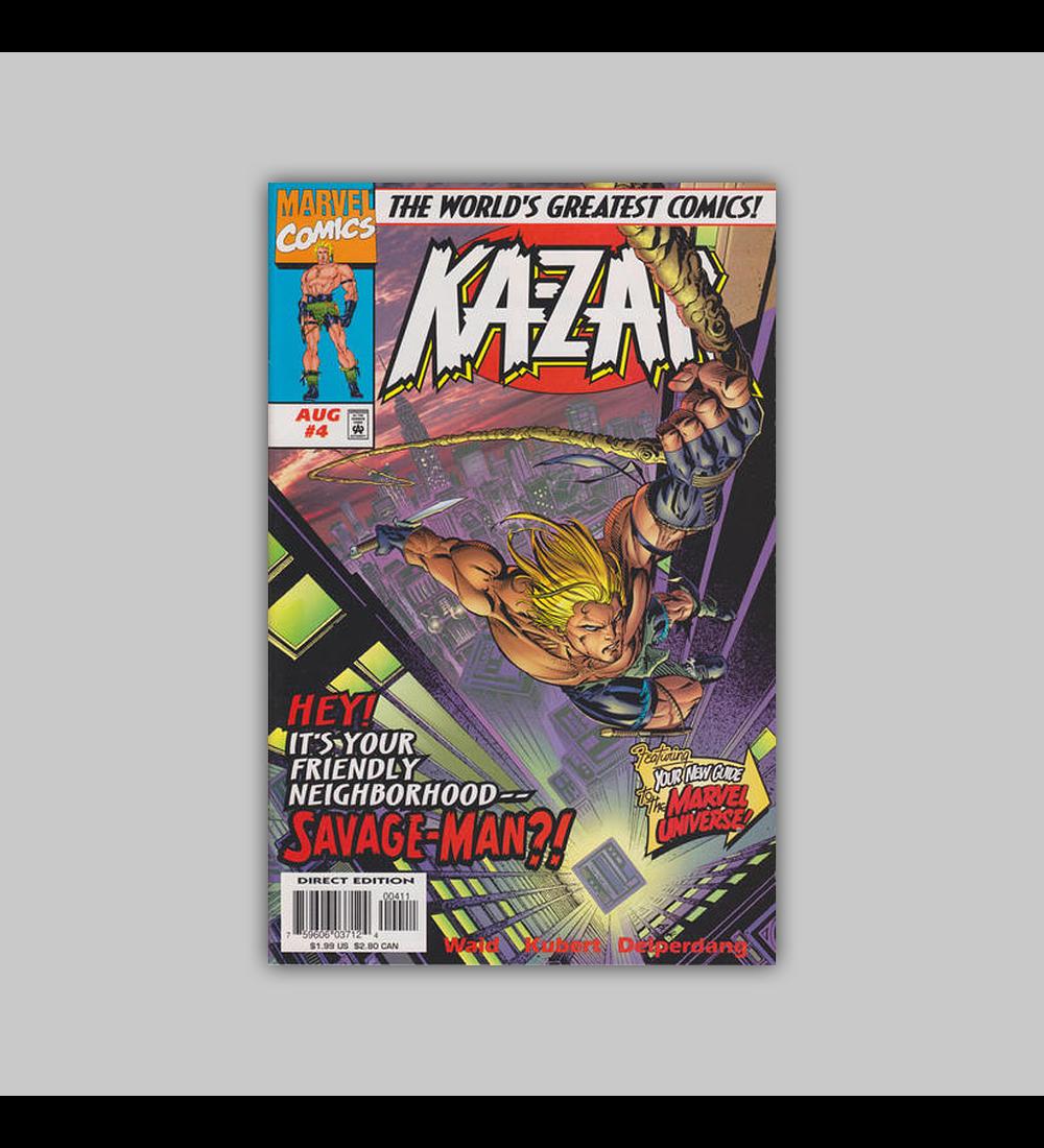 Ka-Zar (Vol. 2) 4 1997