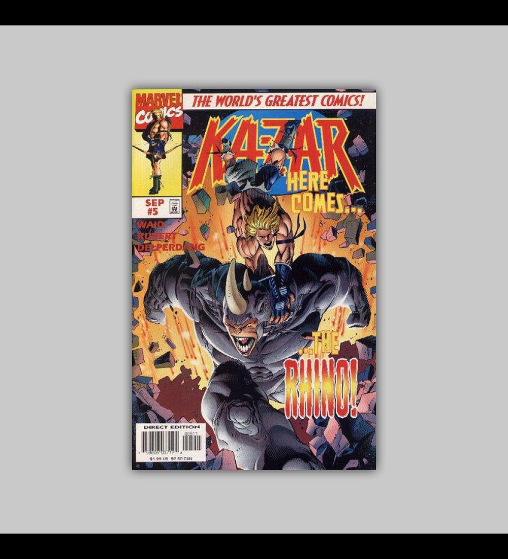 Ka-Zar (Vol. 2) 5 1997