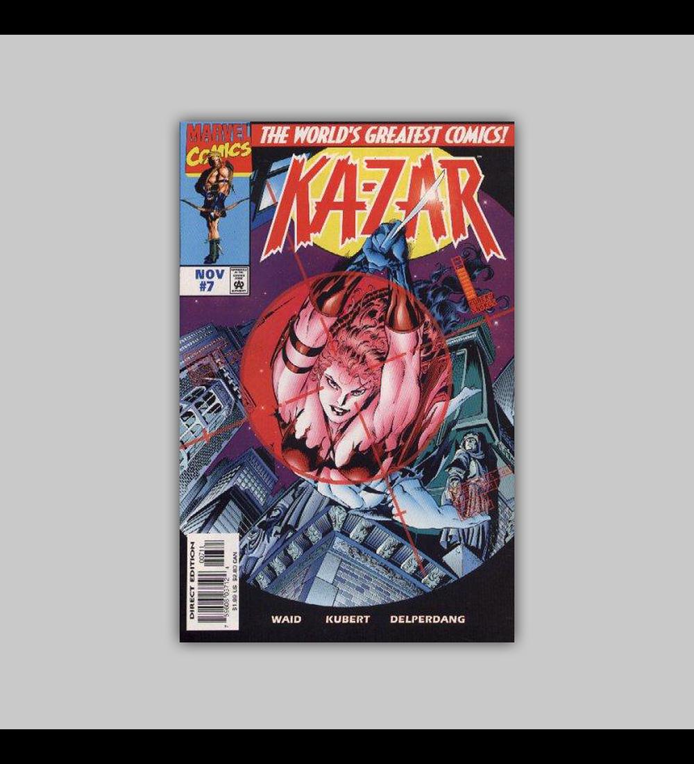 Ka-Zar (Vol. 2) 7 1997