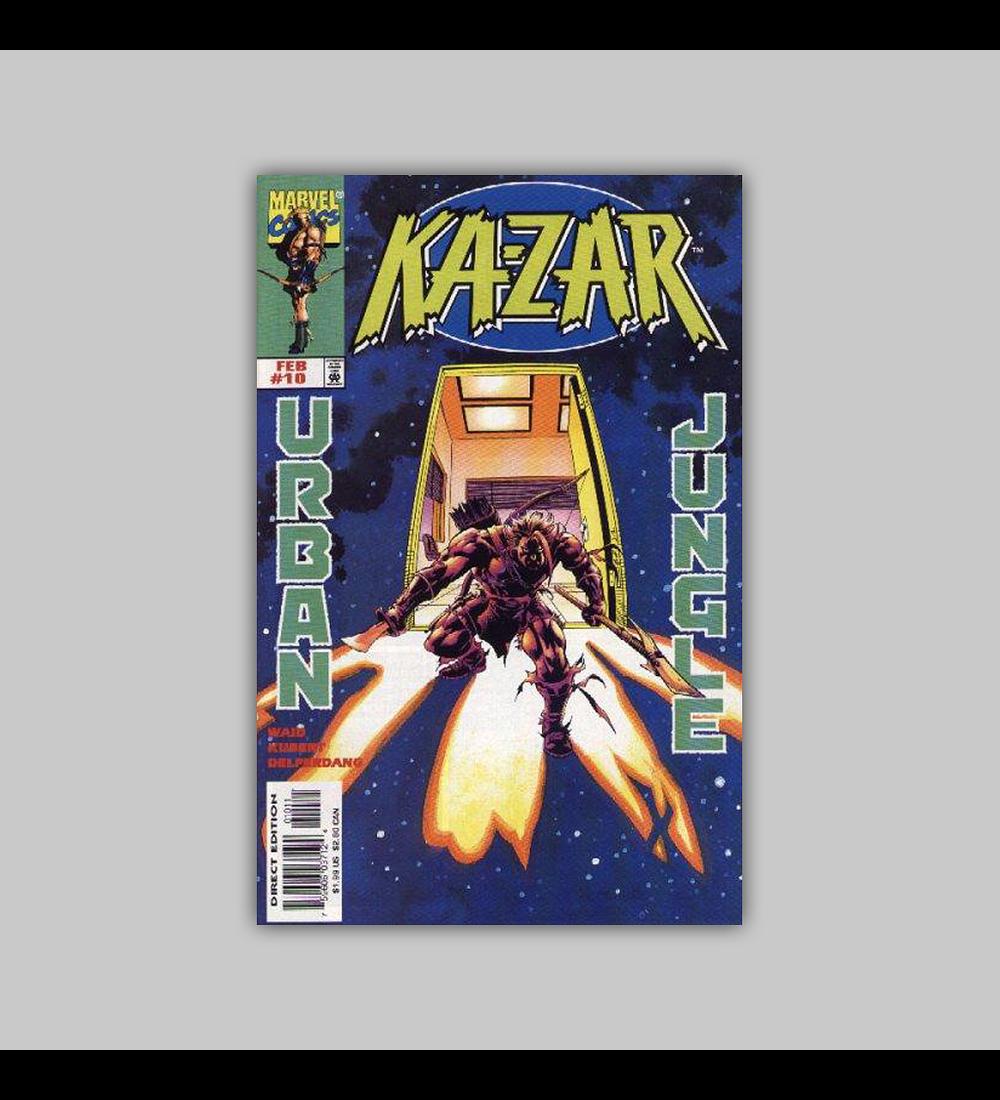 Ka-Zar (Vol. 2) 10 1998
