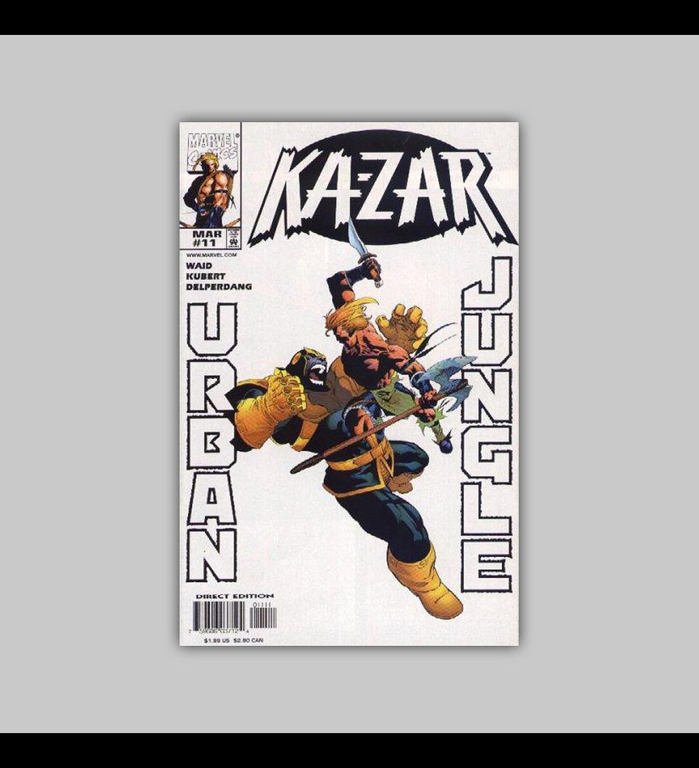 Ka-Zar (Vol. 2) 11 1998