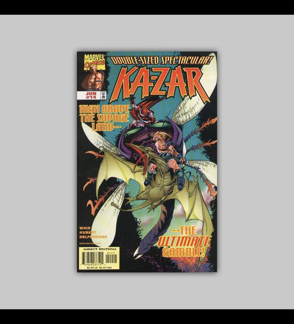 Ka-Zar (Vol. 2) 14 1998