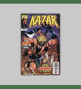 Ka-Zar (Vol. 2) 16 1998
