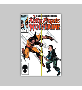 Kitty Pryde and Wolverine 3 VF (8.0) 1985