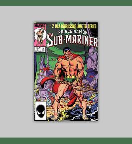 Prince Namor: Sub-Mariner 2 1984