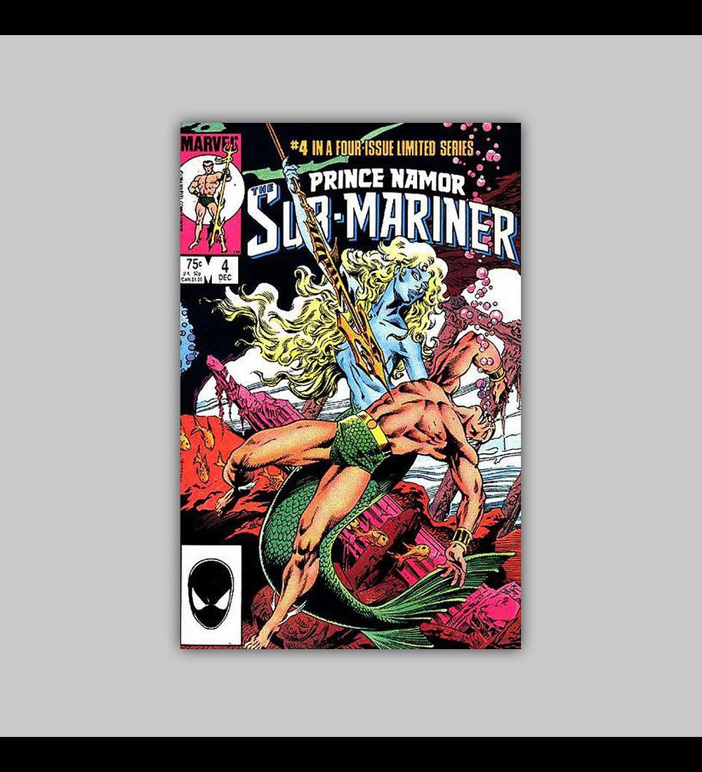 Prince Namor: Sub-Mariner 4 1984