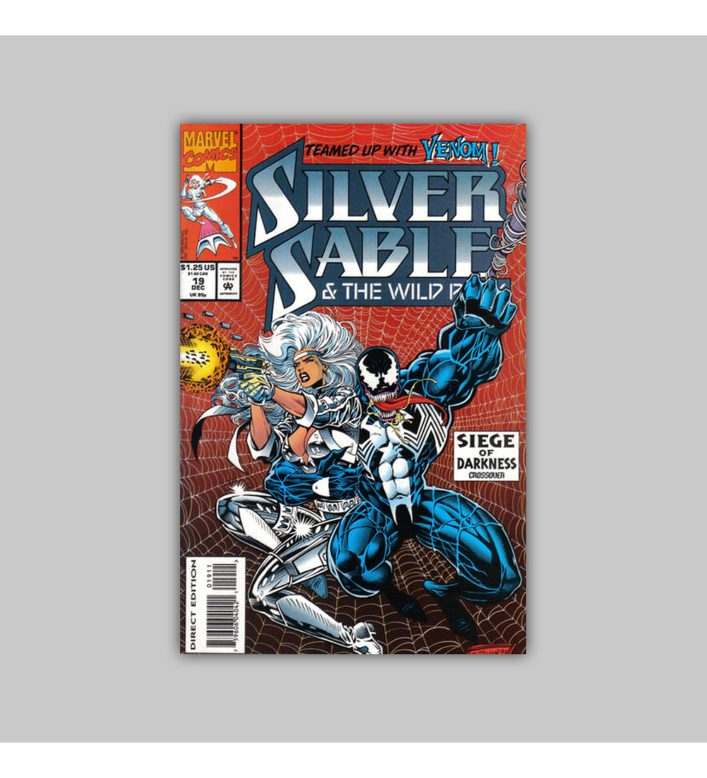 Silver Sable & the Wild Pack 19 1993
