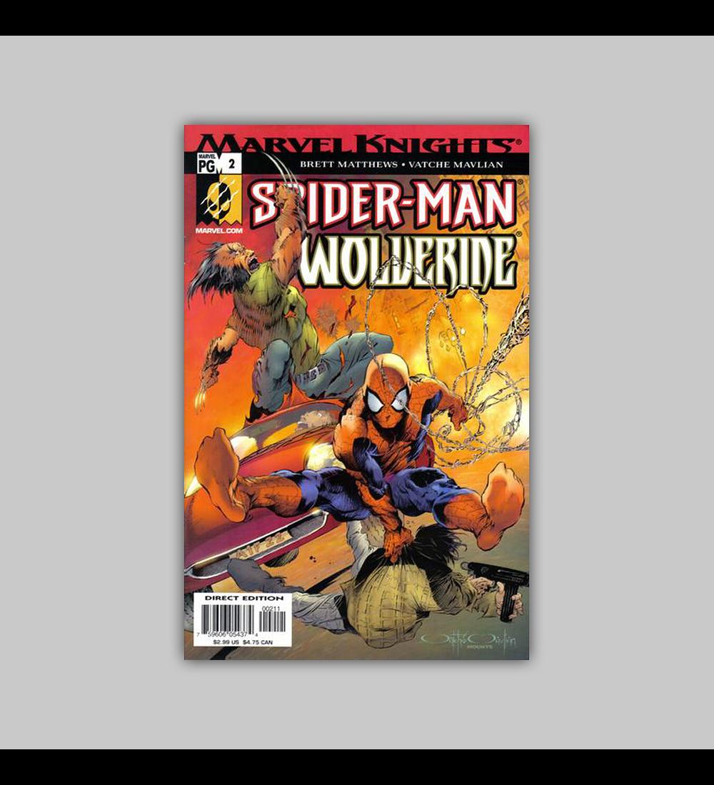 Spider-Man & Wolverine 2 2003