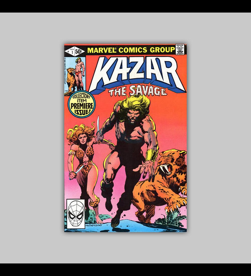 Ka-Zar the Savage 1 1981