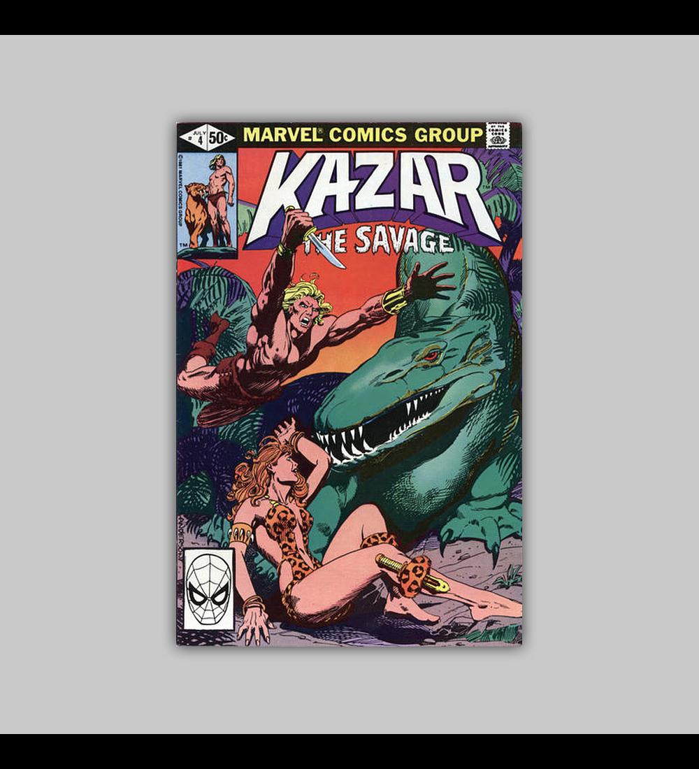 Ka-Zar the Savage 4 1981