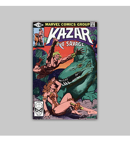 Ka-Zar the Savage 4 1981