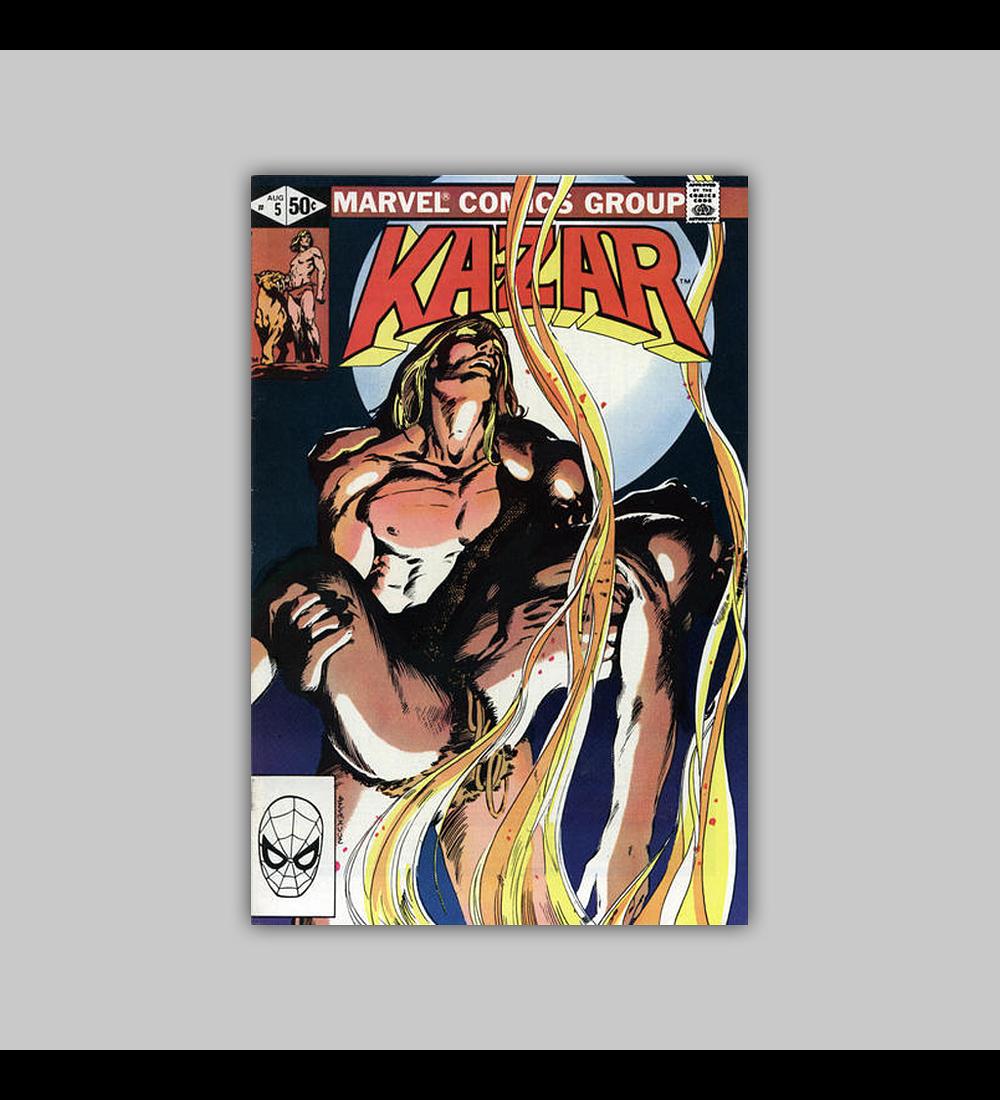 Ka-Zar the Savage 5 1981