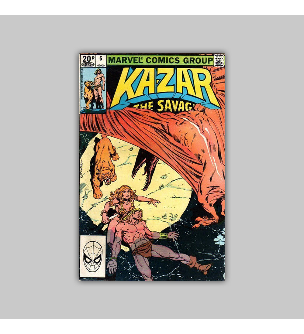 Ka-Zar the Savage 6 1981