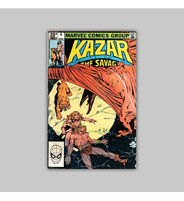 Ka-Zar the Savage 6 1981